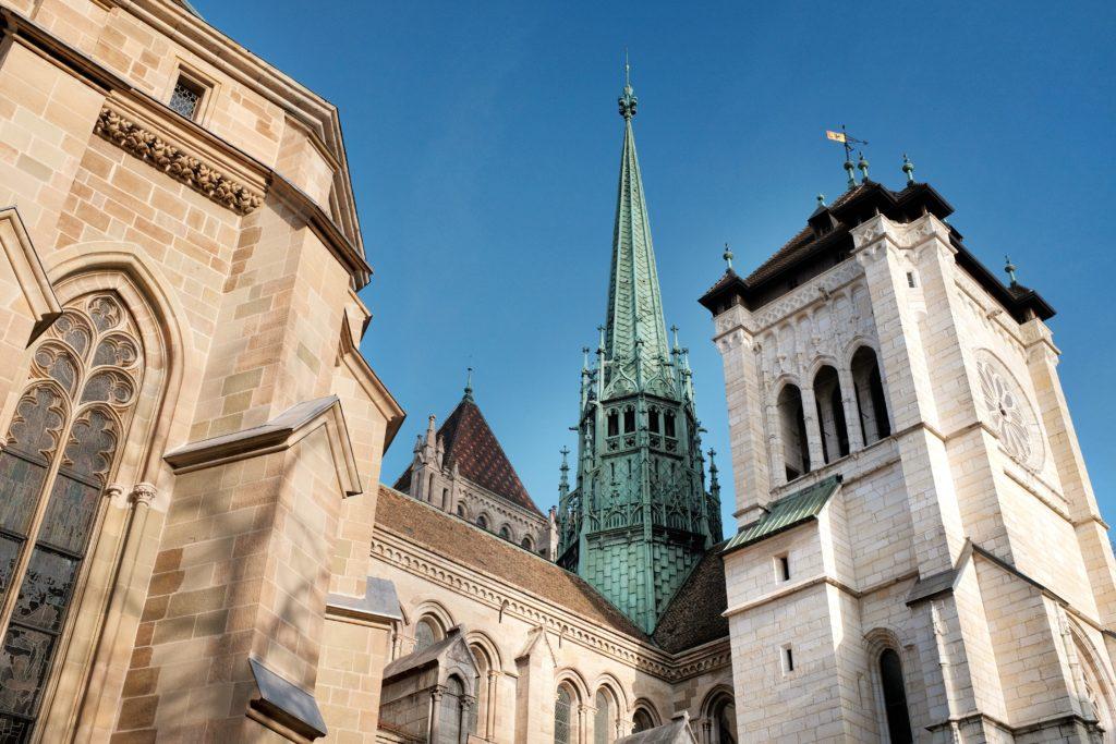 St Pierre Cathedral, Genève, Switzerland - Photo by Samuel Zeller on Unsplash